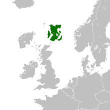 Location of Altonia within the European Continent